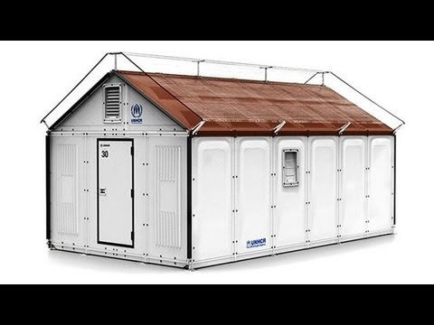 Ikea and UNHCR invent more durable refugee shelter