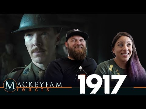 1917 - Official Trailer- REACTION and REVIEW!!!