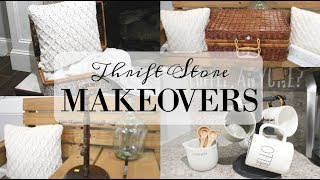 THRIFT STORE MAKEOVER 2019 | FARMHOUSE & VINTAGE HOME DECOR
