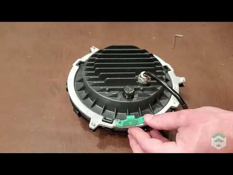 Suzuki LED Headlight Adapter Install