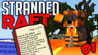 "Minecraft Stranded Deep #1 ""Eating Seagulls"" 