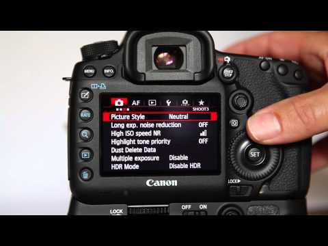Setting Up A Canon 5D Mark 3 (5d Mk Iii) For Wedding Photography
