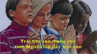 Lm. Xuân Hy Vong - Thánh Ca LTXC4 lyric video