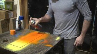 How to paint a fade with spray cans