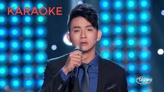[karaoke] trom nhin nhau - Hoai Lam