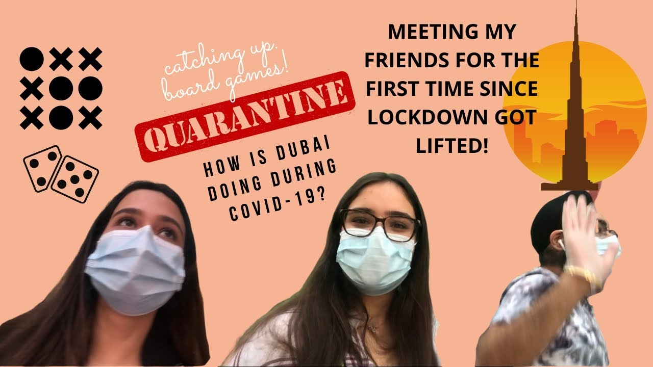 Dubai after LOCKDOWN!! | Meeting my FRIENDS for the first time after QUARANTINE | VLOG | MUSSKAN