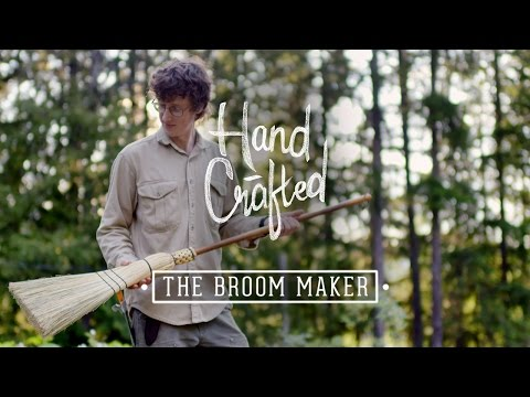 Hand Crafted | The Broom Maker