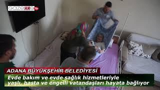 Evde bakım hizmetleri yaşlı ve hastaları hayata bağlıyor