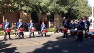 Tulare Western Drumline street feature 2016