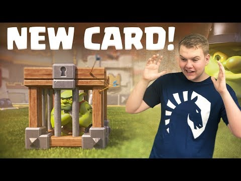 NEW CARD! Goblin Cage Draft Challenge Tips & Tricks! - Clash Royale