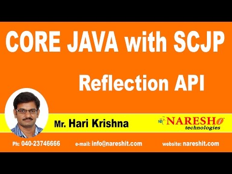 Reflection API | Java Tutorial