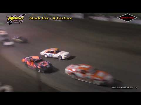 Stock Car A Feature - Rapid Speedway - 5/25/18