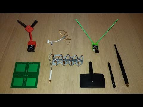 Taranis 2.4Ghz RSSI test, D4RII, X8R and 6 TX antennas...