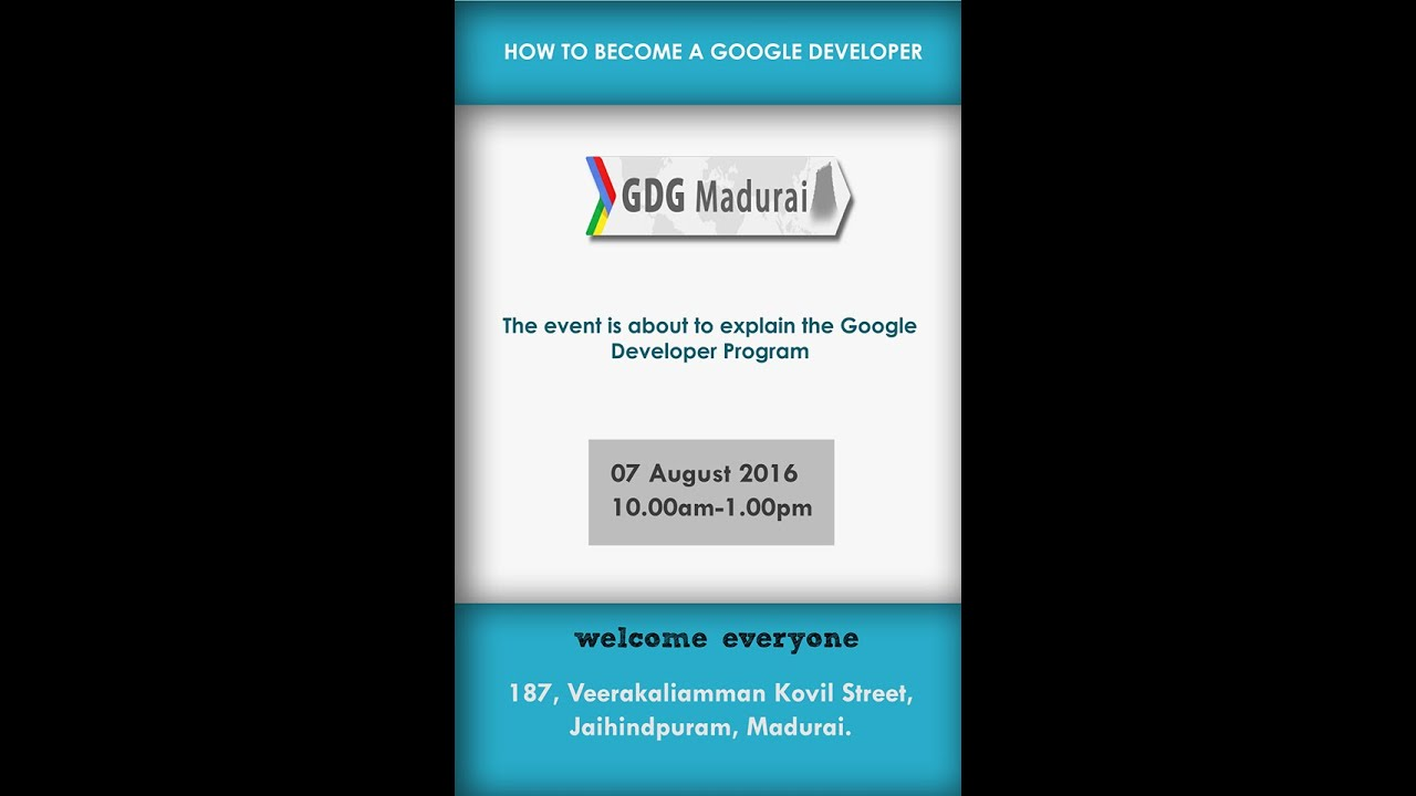 How to become Google Developer [Tamil]