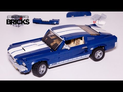 Lego Creator Expert 10265 Ford Mustang Speed Build