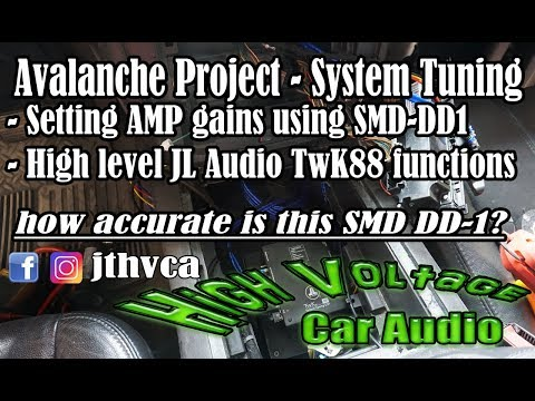 Avalanche Project - System Tuning With Gain Setting