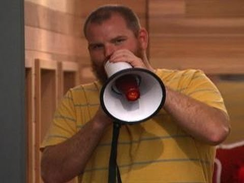 Big Brother: Feed Clip: Bullhorn in the Bathroom