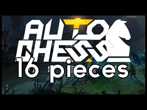 DOTA AUTO CHESS 16 PIECES