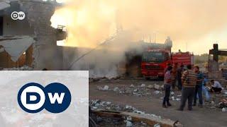 Обстрел гуманитарного конвоя в Сирии: кто виноват?
