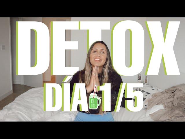 DETOX DIA 1 / DETOX DE ESPACIOS PERSONALES PARA COMENZAR EL LUNES