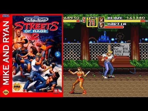 Streets of Rage 2 (Sega Genesis) Mike & Ryan
