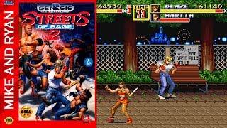 Streets of Rage 2 (Sega Genesis) Mike & Ryan