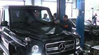 Удаление сажевого фильтра на  авто Mercedes Gelandewagen. Удаление сажевого фильтра в СПБ.в СПБ.