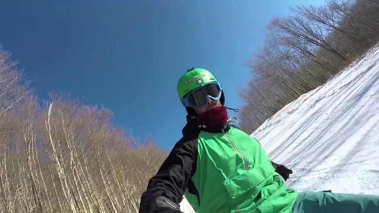 [snow] snowboarding monte cimone - pista esperia
