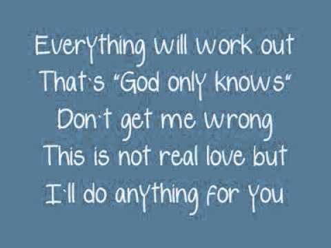 A Whole New World God Only Knows (Lyrics)