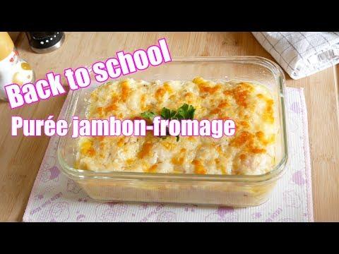 purée-de-pomme-de-terre-🥔jambon-fromage