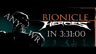 [Any%] Bionicle Heroes Speedrun in 3:31:00 (World Record)