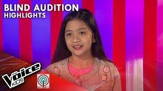 Meet Kyla Valiente from Ilocos Norte | The Voice Kids Philippines 2019