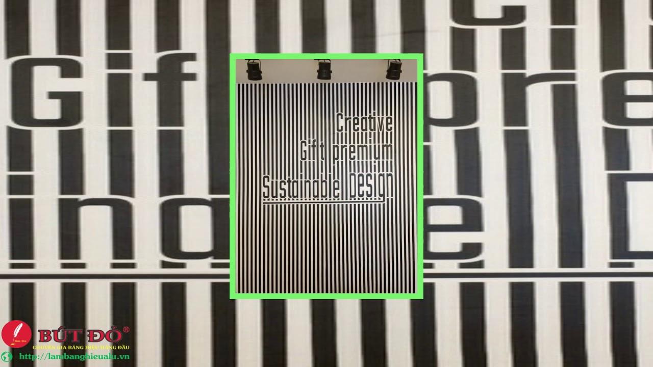 Thiết kế & thi công làm bảng hiệu hộp đèn bạt 3M in UV giá rẻ!