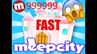 How to get alot of money in MeepCity Roblox ( Castle in a day)