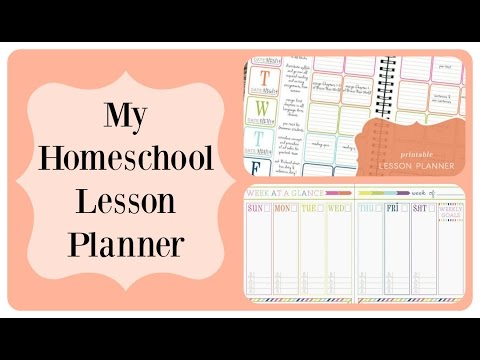 My Homeschool Lesson Planner Tour | I FINALLY Found One That Works!