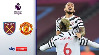 Traumtor! Pogba & Greenwood drehen Spiel | West Ham - Man United 1:3 | Highlights - Premier League