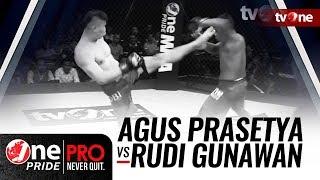 Video [HD] One Pride MMA 3: Agus Prasetya vs Rudi Gunawan - FULL FIGHT download MP3, 3GP, MP4, WEBM, AVI, FLV Juni 2018