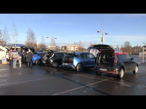 Cargo space in popular EVs