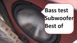 Bass Test Subwoofer extreme Bass auf meiner Anlage | Decaf White Clouds Bass i love you