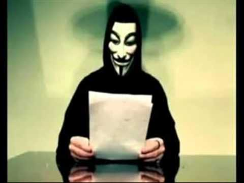 Se le cae la mascara a JEFE de Anonymous  IMPRESIONANTE