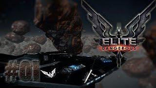 Elite Dangerous 01 Пилим астеройды