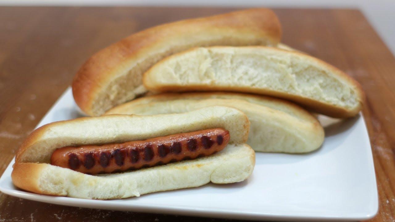 Easy Homemade Hot Dog Bun Recipe
