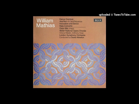 William Mathias : Concerto for Harp and orchestra Op. 50 (1970)