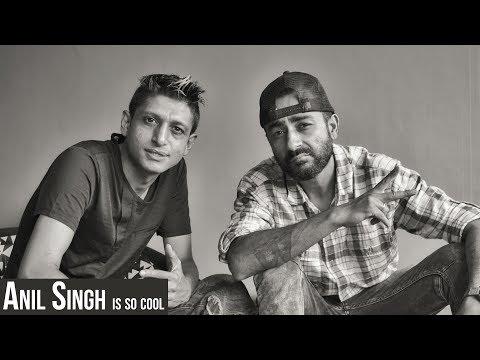 NEPALI POP MUSIC ICON ANIL SINGH STUDIO VISIT
