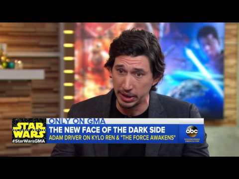 'Star Wars: The Force Awakens' - Adam Driver Discusses His Dark Role in