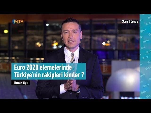 Soru&Cevap: EURO 2020 Elemeleri'nde Türkiye'nin rakipleri kimler?