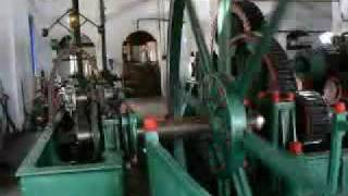 Steam Engine (Not a Model) working almost everyday since 1850 in Brazil, made in France
