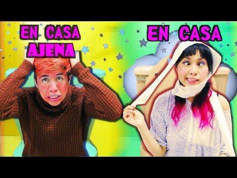 EN TU CASA vs EN CASA AJENA | Palomitas Flow