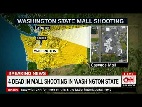 4 killed, 1 injured in shooting at Cascade Mall