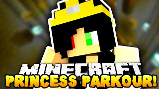 Minecraft - KILL THE PRINCESS PARKOUR?! - w/Preston